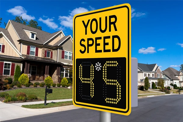 Radar Speed Signs